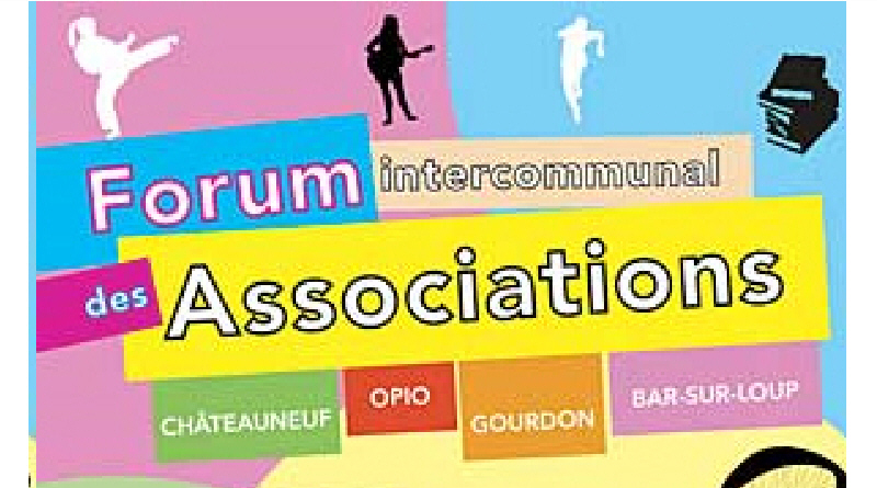 Forum des associations 8 septembre 2019